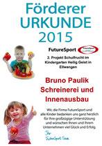 Schulfruchtprogramm 2015 Kindergarten Heilig-Geist