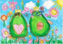 花と笑顔生徒受賞作品