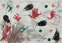 第65回全日本学生美術展推奨受賞作品(1歳8か月)