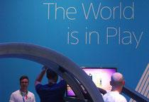 IFA 2012 | SONY | Für viele Besucher sicher eine der Messe-Attraktionen: die Play-Station-Welt, ein für das Unternehmen (Profit) und die Marke (Image) SONY ungeheuer wichtiges Standbein.