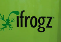 IFA 2012 | IFROGZ | ... mit Markennamen, die klarmachen, welcher spirit in den Produkten steckt (oder stecken soll) ...