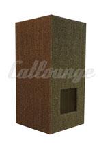 Kratzturm Medium Pure Edge brown links/front