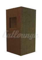 Kratzturm Medium Pure Edge brown rechts/hinten