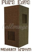 Kratzturm Medium Pure Edge brown front/rechts