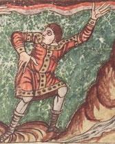 Stuttgarter Psalter fol. 017r (Detail).