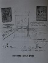 MESNIL (Mesnil-Martinsart) Projet de monument
