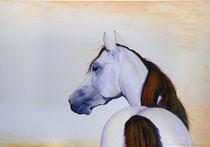 2009 leegte; vol mogelijkheden    acryl op linnen 70 x 100 cm. € 1275,-