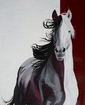 Wat is het verschil? Rotonde schilderij geschilderd met alkyd op paneel 120 x 150 door Marian van Zomeren- van Heesewijk