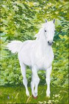 2019In vrede en vreugde vrij zijn geschilderd door Marian van Zomeren- van Heesewijk op linnen 120 x 80 cm.