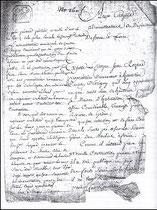 Dans sa requête du 22 Messidor de l'an VII de la république, Jean Rozand en demande officiellement l'autorisation aux citoyens administrateurs de Saône-et-Loire...