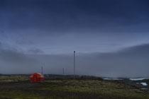 Schutzhütte im Hochland , Westfjorde