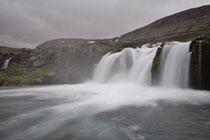 Wasserfall am Fuße des Dynjandi