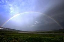 Regenbogen bei Holmavik