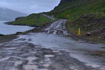 Straße 643 kurz vor Djupavik