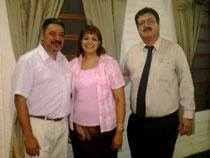Ap. Palomino y el Matrimonio Condoy en Paraguay