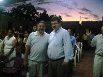 Apostol Miguel Palomino Pastor Raul Condoy en Paraguay