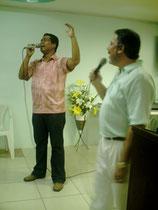 Pastor Wagner y Ap.Palomino em Ministerio Jabes