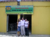 Iglesia Apostolica pastores Viuson y su esposa