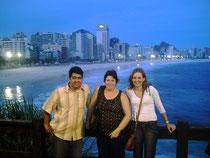 Pastor Ricardo, Profeta Matilde de Palomino y esposa del pastor en Rio de Janeiro