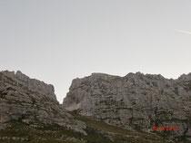Di Forca del Palone mit dem Cima di Terrarossa