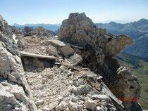 Reste der legendären Montaschstellung aus dem Ersten Weltkrieg
