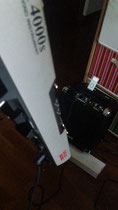 USBにくらべて4000は重いです。
