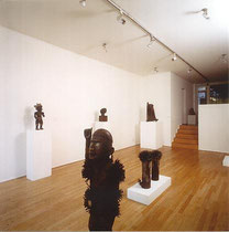 Left to right: Nagelfetisch (Afrika), Krieger (Maya), Henry Moore, Anthony Caro, Uecker