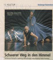 Salzburger Nachrichten 24.10.2008
