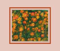 Nr. 15/16  Acryl. auf Spez. Büttenpapier  60x50 cm inkl. Karton - Passepartout  Euro  250,-