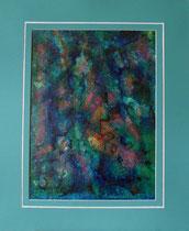 Nr. 19/01  Acryl  auf Spez. Büttenpapier  60x50 cm inkl. Karton - Passepartout  Euro 270,-