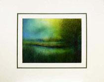 Nr. 14/09  Aquarell auf Büttenspezialpapier  Fin Art 50x40 cm inkl. Karton - Passepartout  € 270,-