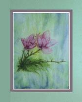 Nr. 15/22  Aquarell auf Büttenspezialpapier Fin Art 76x60 cm inkl. Karton - Passepartout  € 250,-