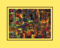 Nr.14/03  Acryl. auf Spez. Büttenpapier  50x40 cm inkl. Karton - Passepartout  Euro  290,-