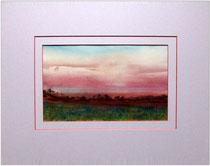 Nr. 94/00   Aquarell auf Büttenspezialpapier  Fin Art 50x40 cm inkl. Karton - Passepartout  €  180,-