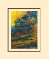 Nr. 15/14  Mischt. auf Büttenspezialpapier  65x50cm inkl. Karton- Passepartout  € 270,-