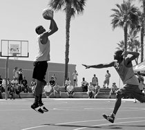 Venice Beach Courts Playground