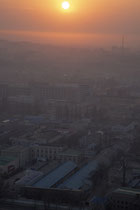 From the 37th floor of Yanggakdo Hotel - Pyongyang