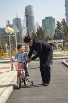 Children's Traffic Park - Pyongyang