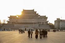 Kim Il Sung Square - Pyongyang
