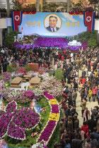 Kimilsungia Flowe Exhibition - Pyongyang