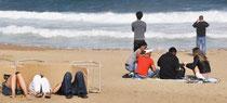 Strandleben in Barca