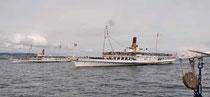 Nyon, parade navale CGN 2013