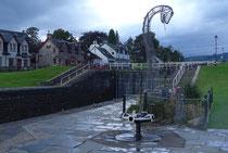 Fort Augustus - 7 Schleusentreppen - Loch Ness (Caledoniankanal)