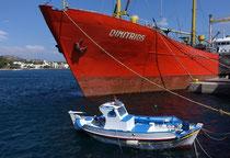 Leros, Hafen