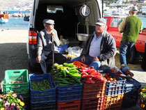 Mykonos, Minimarkt