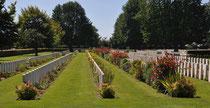 Bayeux, cimetière soldats anglais