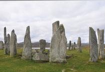 Insel Lewis - Standing Stones of Callanish (Unesco Welterbe)