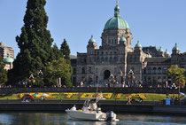 Parliament Buildings  am Inner Harbour