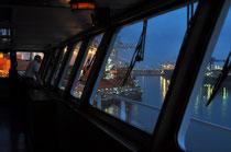 Rotterdam - auf der  Bridge by night
