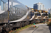 Rocky Mountaineer, Start in Vancouver
